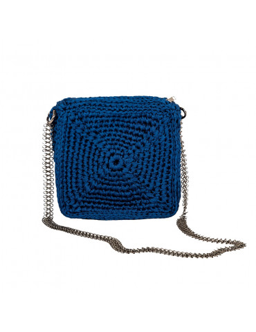 Square Handmade Knit Bag