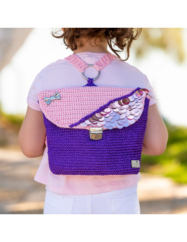Handmade Knitted Children Bag