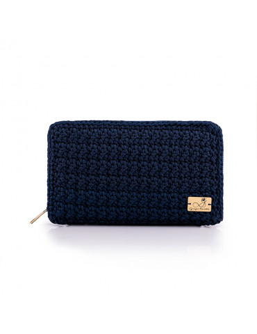 Handmade Knitted Wallet With Zipper