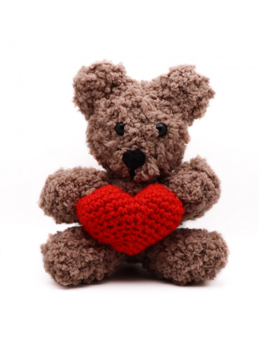 Handmade Knitted Teddy Bear...