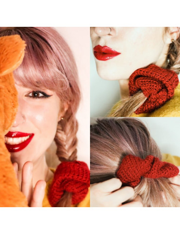 Handmade Knitted Scrunchies