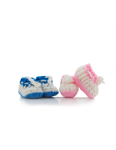 Handmade Knitted Baby Shoes