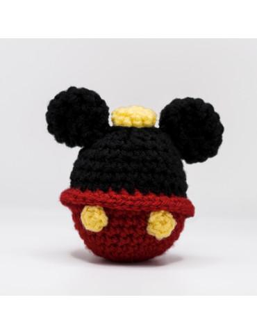 Handmade Knitted Keychain