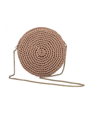 Handmade Round Bag with...