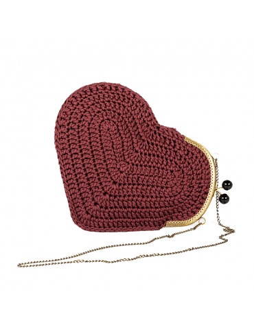 Handmade Knitted Bag in...